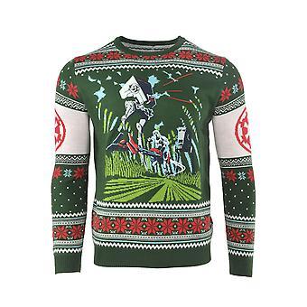 Officiële Star Wars slag van Endor kerst Jumper / lelijke trui