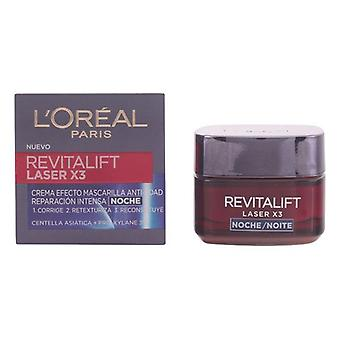 Nachtcreme Revitalift Laser L'Oreal Make Up/50 ml