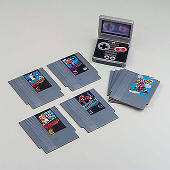 NES لعبة كاسيت كوستر 8 حزمة
