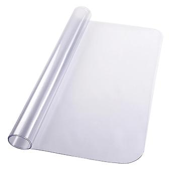 Yescom Office Chair Mat for Hard Wood Floors Clear Rectangle PVC Floor Mat Protector with Lip 1.5mm Thickness 48