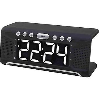 soundmaster UR800SW Radio wekker FM AUX, USB Zwart