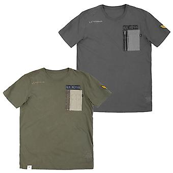 Alpha Industries férfi T-shirt Utility Pocket T