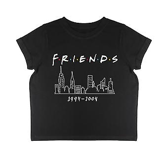 Friends NYC Dates Girls Cropped T-Shirt | Official Merchandise