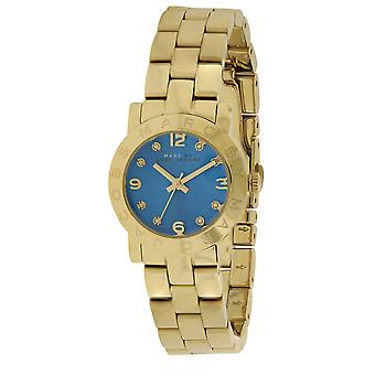 Marc Jacobs MBM3304  Female Gold Stainless Steel 26MM Quartz Analog Watch