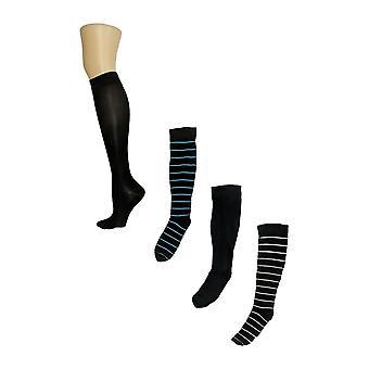 Legacy Women's Compression Trouser Socks S/ 4 Black Socks A370510