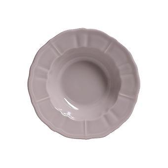 Piatti Kayla Colore Bianco in Stoneware, L22xP22 cm