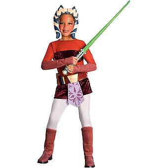 Ahsoka barn kostume