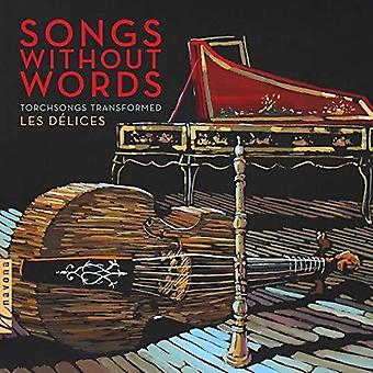 Aznavour / Les Delices / Garner - Songs Without Words [CD] USA import