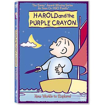 Harold & den violette farvekridt - Harold og det violette farvekridt: nye verdener at udforske [DVD] USA import