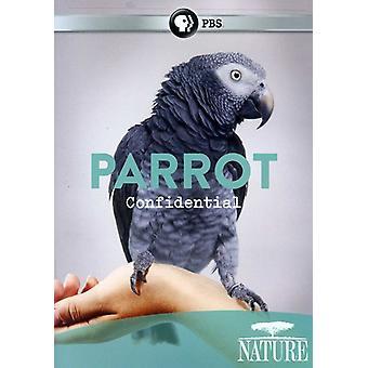 Natura - natura: Importazione pappagallo Confidential [DVD] Stati Uniti d'America