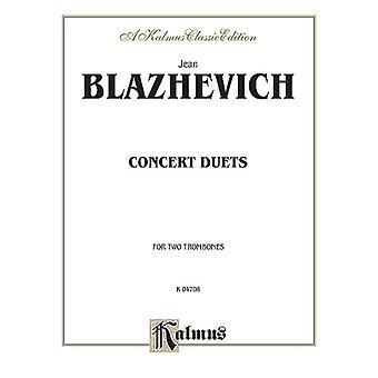 Concert Duets by By composer Vladislav Blazhevich