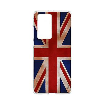 Hull For Huawei P40 Pro Soft Flag Uk Vintage
