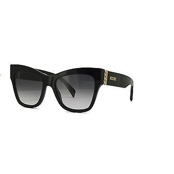 Moschino MOS011/S 807/9O Black/Dark Grey Gradient Sunglasses