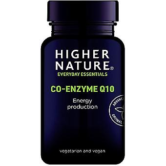 Higher Nature Co-Enzyme Q10  30mg Vegetable Tablets 90 (COQ090)