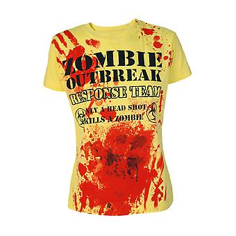 Darkside - zombie outbreak response - womens capsleeve t-shirt
