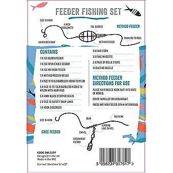 Westlake Ready-To-Fish Tackle Box Feeder Natural