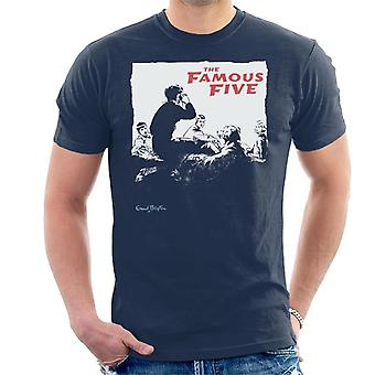 Enid Blyton The Famous Five Group Together Men's T-Shirt
