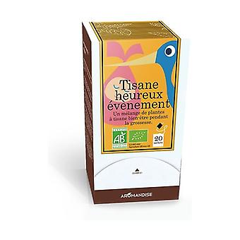Happy Event Herbal Tea 20 g of 1.5g