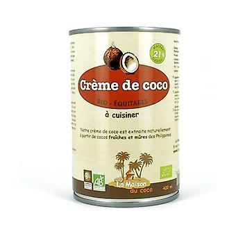 Kokoscrème 21% vet 400 ml