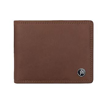 Primehide menns skinn kortholder lommebok RFID blokkerer herrer notecase 4031