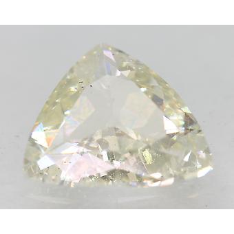 Sertifioitu 2,03 karaatin I VVS2 kolmio parannettu luonnollinen loose diamond 10.47x10.1mm