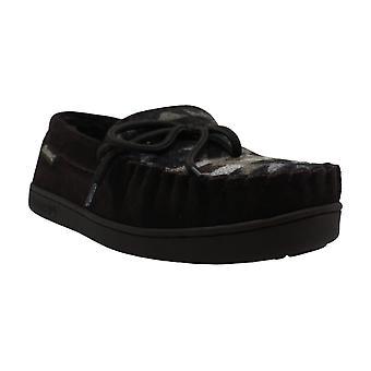 Bearpaw Mens MOC II Suede Closed Toe Slip On Shoes