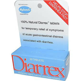 Hyland's, Diarrex, 50 Tablets