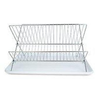 Se spală rack alb metal/plastic