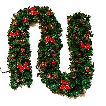 Christmas wreath decoration artificial berry pine cones, Christmas tree pine cone decoration
