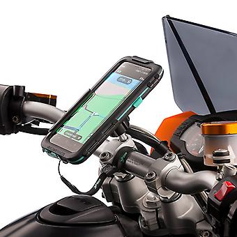 Samsung galaxy s8 s8+ waterproof case motorcycle top clamp metal mount