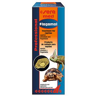 Sera Med Profesional Flagamol para Amebas y Flagelados  (Reptiles , Food Supplements)