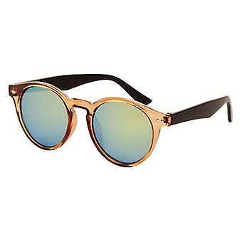 Sunglasses Unisex with mirror edits brown (AZ-20)