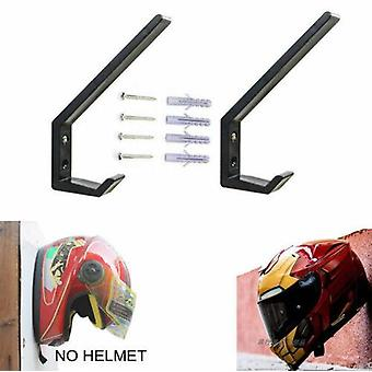 Wall Mount, Motorcycle Helmet Holder Hook