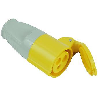 Faithfull Power Plus Yellow Socket 16 Amp 110 Volt FPPCOUP110