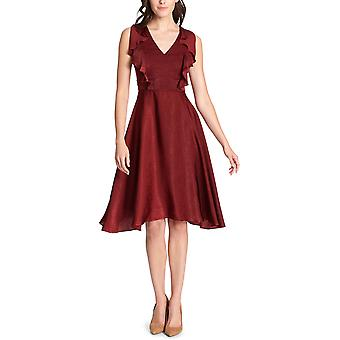 Kensie | Ruffled Fit & Flare Dress