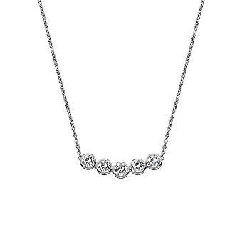 Hete diamanten zilveren Tender ketting DN129