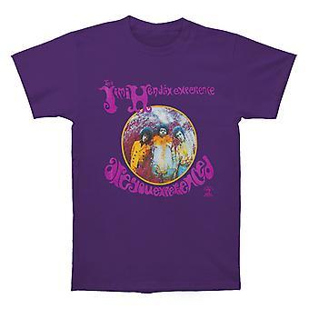 Jimi Hendrix Are You Experienced Purple T shirt