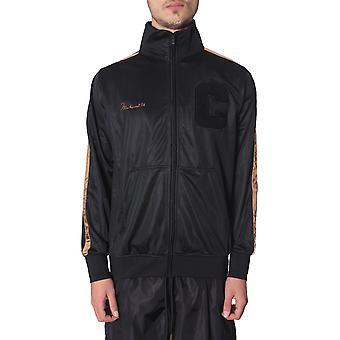 Marcelo Burlon Cmbd005r198880281093 Heren's Zwart Polyester Sweatshirt