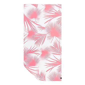 Slowtide Day Palms Travel Towel - Pink