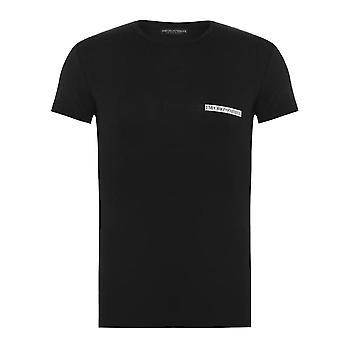 Emporio Armani Crew Neck Lounge T-Shirt - Black