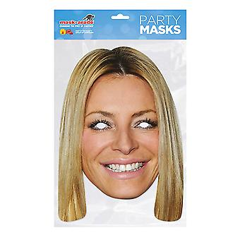 Mask-arade Tess Daly Party Mask