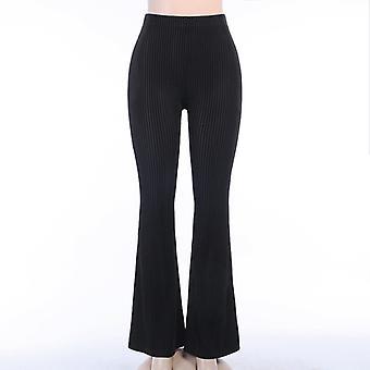 Girl High-waisted Drape Flared Pants