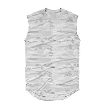 Sleeveless Camouflage Shirt