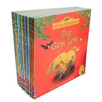20pcs/set 15x15cm Usborne Farmyard Picture Books For, Famous Story English