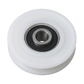 8x45x11.5mm u τύπος άσπρος φέροντας ράγα τροχαλία παθητικός τροχός rolloer