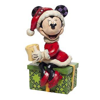 Disney Perinteet Minni Hiiri Suklaa Ilo Joulu Figurine