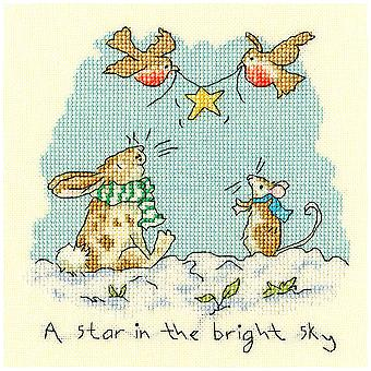 Bothy Threads Cross Stitch Kit - Star In The Bright Sky