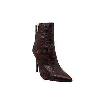 Michael Michael Kors Womens Snakeskin Pointed Toe Ankle Fashion Boots