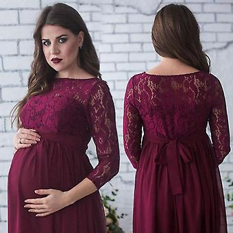 Maternity Photography Props Women Pregnancy Clothes Lace Dress For Pregnant
