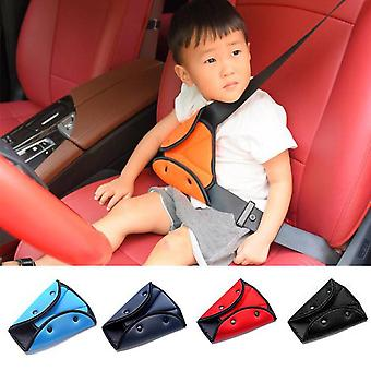 Car Seat Belt Triangle, Safety Clip Buckle Holder, Seat Cover, Protect Baby